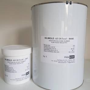 silicone per stampi  Gomma siliconica per stampi alimentari - POOLKEMIE